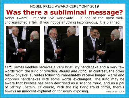 james peebles nobel prize