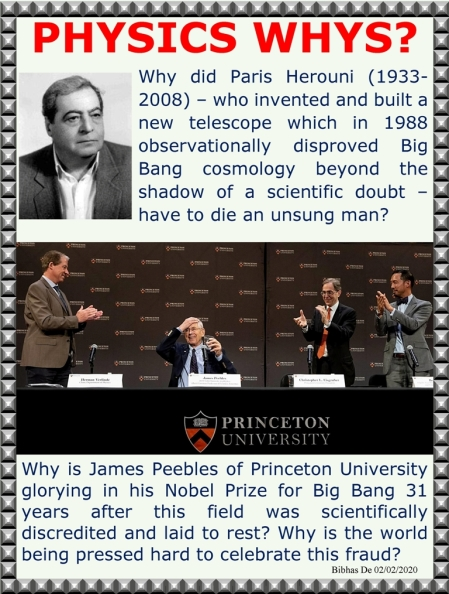 james peebles nobel prize